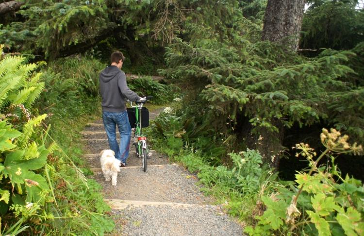 Heading down a path